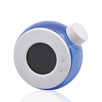 Environmental protection water power clock bell mute water - blue Price Philippines