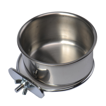"Bolt on Pet BOWL Food or Water, For Crates Cages Dog Parrot Puppy 5"" 6"" 8"" S M L Price Philippines"