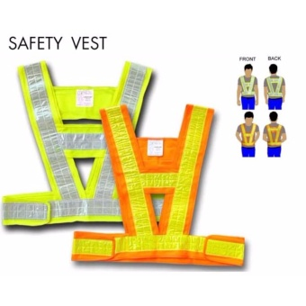 Creston Safety Vest Extra Large (Red + Yellow) Price Philippines