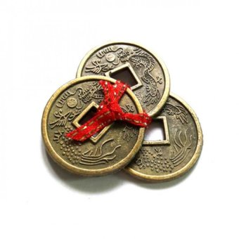 Be Lucky Charms Feng Shui Wealth Catcher Three I-Ching Brass Coins Price Philippines