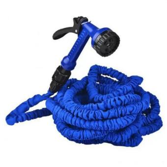 Harga QF Expandable Flexible Garden Hose 25ft (Blue)