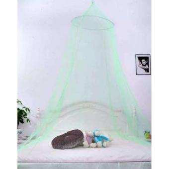 Harga Romantic House Hang Dome Mosquito Net (Green)
