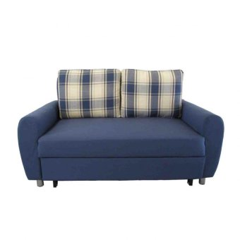 AVINO® Logan Sofabed (Blue Plaid) Price Philippines
