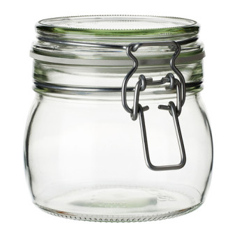 Korken Jar with Lid (Clear glass) Price Philippines