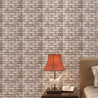 Rustic Brick Effect Rock Stone Textured Wall Sticker Paper Gray Price Philippines
