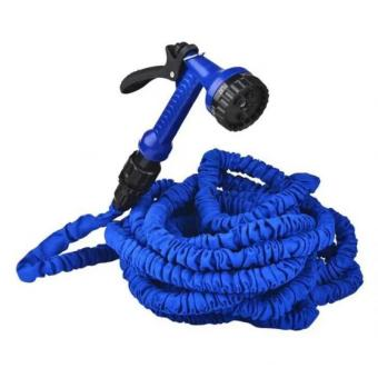 Harga As Seen On Tv Home Garden Necessary 75FT Plastic Expandable Flexible Garden Water Hose Blue Magic Hose Water Pipe US And EU Stantard