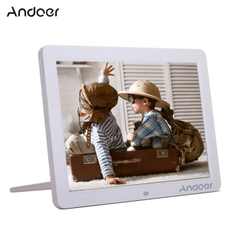 "Andoer 12"" Wide Screen HD LED Digital Picture Frame Digital Album High Resolution 1280*800 Electronic Photo Frame with Remote Control Multiple Functions Including LED Clock Calendar MP3 MP4 Movie Player Support Multiple Languages Outdoorfree - intl Price Philippines"