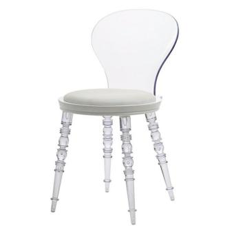 Harga Home Source Athena Chair PC860 (Clear)