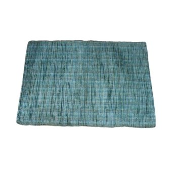 Harga Baguio Native Area rug (Clear Blue)
