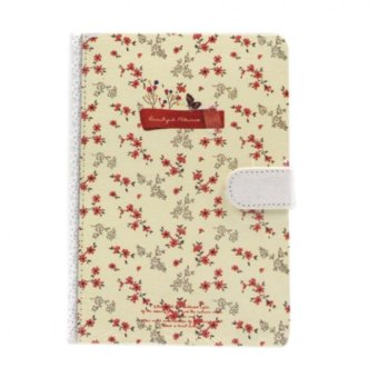 Inspire Beautiful Flower Notebook ( Red) Price Philippines