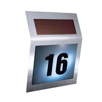 Harga Solar Powered House Number Sign