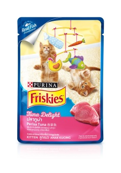 Harga Friskies Kitten Wet Pouch Tuna 80G (Case Of 24)