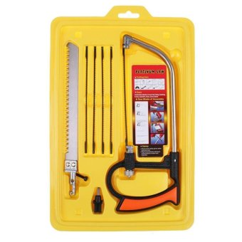 8 in 1 Magic-Saw Multi Purpose Hand Saw Mental Wood Glass Saw Kit SET Tool - intl Price Philippines
