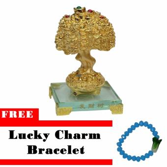 Lucky Charm Money Tree Decorative Gift w/ Free Lucky Charm Bracelet Price Philippines