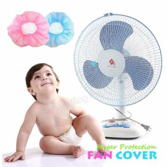 Electric fan Cover for Finger Protection color blue Price Philippines
