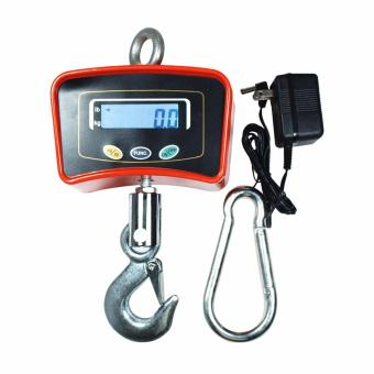 Harga PhoenixHub Digital Hanging Scale Heavy Duty Industrial Tools 500kg / 1100 lbs Capacity(Orange)