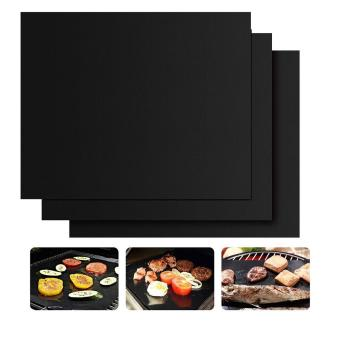 Harga niceEshop Set of 3 Non-Stick BBQ Grill Mat Works on Gas,Charcoal,Electric Grills Heat Resistant Barbecue Sheets For Grilling Meat, Veggies, Seafood