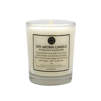 Soy Aroma Candle (Lavender and Vanilla) Price Philippines