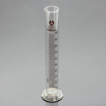 Graduated Glass Measuring Cylinder Lab Spout Measure 100ml Price Philippines