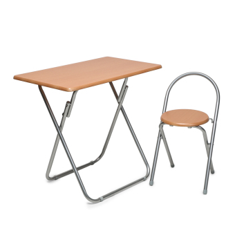Modern Lifestyle Folding Table and Chair (Beech) Price Philippines