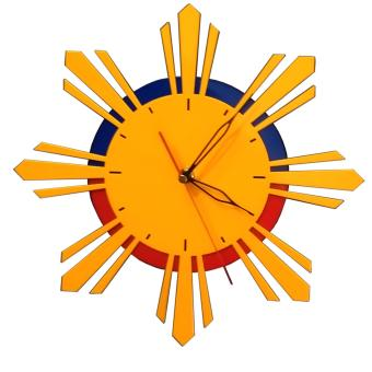 Harga Lufata PH Sun Wall Clock