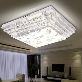 Harga Crystal LED ceiling lamp bedroom lamps - intl