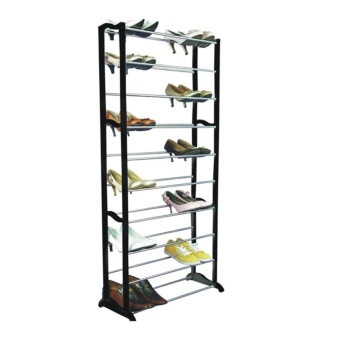 Amazing Shoe Rack (Black/White) Price Philippines