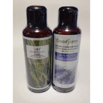 Harga Good Scents 2 BEST SELLERS Aroma Fragrances Citronella and Lavender 125ml