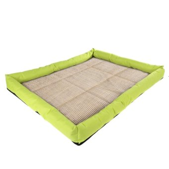 New Soft Pet Dog Summer Cooling Bed Mat(Lemo Yellow_L) - intl Price Philippines