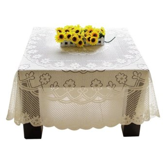 Amart Beautiful Lace Tablecloth Table Decoration 60*60cm Price Philippines