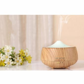 Harga Ultrasonic Oil Diffuser 250ml Aromatherapy Humidifier Diffuser Colorful Lights Candle Diffuser Timing Oil Nebulizer for Hotel, Party - intl
