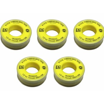 "Meisons Teflon tape 1/2"" best quality (5pcs) Price Philippines"