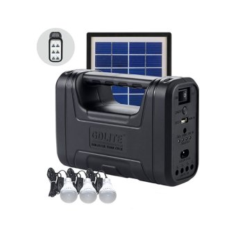 Harga GDlite GD8017B Solar Lighting System