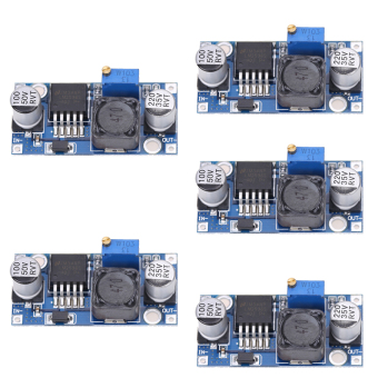 Harga 5pcs DC-DC 3A Buck Converter Adjustable Step-Down Power Supply Module LM2596S - intl