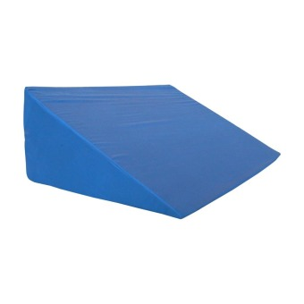 Harga Mandaue Foam Mega Wedge Pillow (Blue)