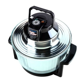 Imarflex 11L Turbo Broiler with Glass Pot CVO-700G (Black/Silver)