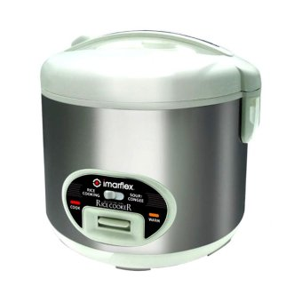 Imarflex IRJ-1800SC Electronic Rice Cooker (White/Silver) - picture 2
