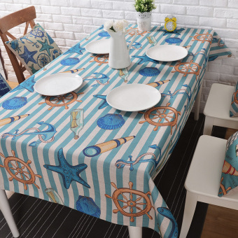 Indie coffee table tablecloth cotton linen tablecloth