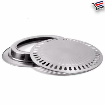 ... Indoor Stainless Steel Smokeless BBQ Grill - 4 ...