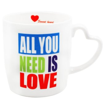 "Inspire ""All You Need Is Love"" Mug (White) Price Philippines"