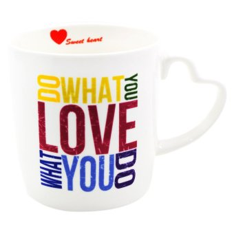 "Inspire ""Do What You Love"" Mug (White/Multicolor) Price Philippines"