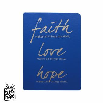 Inspire Gifts of Hope Faith,Love,Hope Journal Notebook - 5