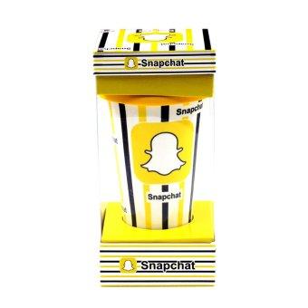 Inspire Snapchat Ceramic Tumbler with Silicone Cap - 5
