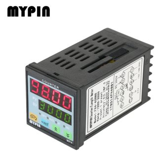 Intelligent 90-260V AC/DC Preset 4 Digital Counter Length Counter Length Meter Relay Output PNP NPN - intl