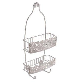 Interdesign Shower Caddy (Clear/Silver Blumz)