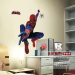 Iron Man adhesive paper Spider Man cartoon paper Children's room wall sticker