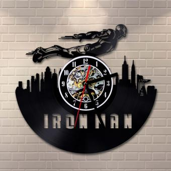 Iron Man Vinyl Wall Clock Price Philippines