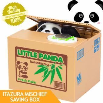 Itazura Mischief Saving Box Little Panda CoinBank Price Philippines