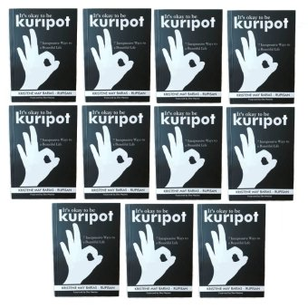 It's Okay to be Kuripot Book It's Okay to be Kuripot (7 Inexpensive Ways to a Beautiful Life) Set of 11