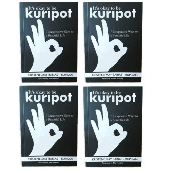 It's Okay to be Kuripot Book It's Okay to be Kuripot (7 Inexpensive Ways to a Beautiful Life) Set of 4